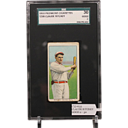 REDUCED We are offering a BOB RHOADES - Right Arm Extended T206 card professionally graded by