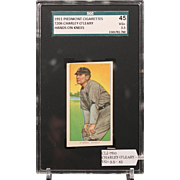 REDUCED T206 CHARLEY O'LEARY - Hands on Knees SGC grade 45 VG+ 3.5
