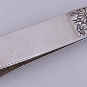 Napkin Clip Contessina Towle 1967 Sterling Silver