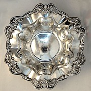 Sterling Silver Serving Bowl Frank Whiting 1900