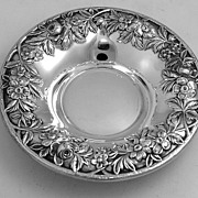 Repousse Candy Dish Kirk 1940 Sterling Silver 13F