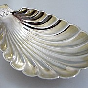 Whiting Shell Serving Dish Sterling Silver 1885