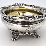 SALE Master Salt Dish Barnard Sterling Silver London 1835