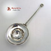 Gebelein Tea or Punch Strainer Sterling Silver 1925
