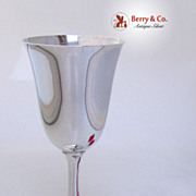 Water Goblets Wallace 14 Sterling Silver No Monograms