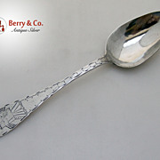 Windmill Tablespoon 18th Century Osterndorf 12 Loth