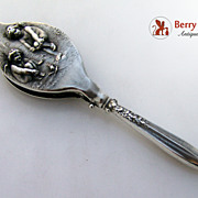 Chilly Cupids Art Nouveau Lorgnette Unger Brothers Sterling Silver 1900