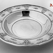 """Rose Point Sterling Silver Wallace 7 7/8"""" 1934"""