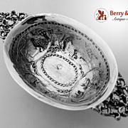 Dutch 930 Silver Brandy Bowl 1880