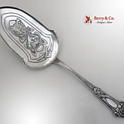 Dragon 830 Standard Silver Pie Server Norway 1890