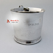 Gebelein Baby Cup Sterling Silver Hand Made 1920