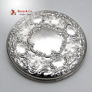 SALE PENDING Old Master Pocket Mirror Towle Sterling Silver