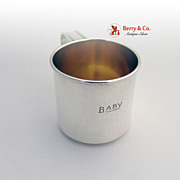 Vintage Baby Cup Sterling Silver Gorham