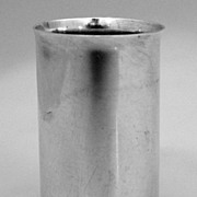 Liquor Shot Cup Currier & Roby Sterling Silver 1930