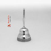 Gorham Sterling Silver Tea Bell 1900