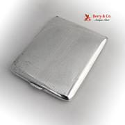 Vintage Cigarette Case Sterling Silver Watson 1950s