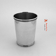 SALE PENDING Mint Julep Cup William Kendrick Sterling Silver 1950 No Monogram