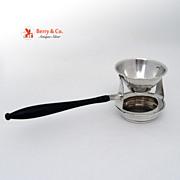 Vintage Tea Strainer Sterling Silver