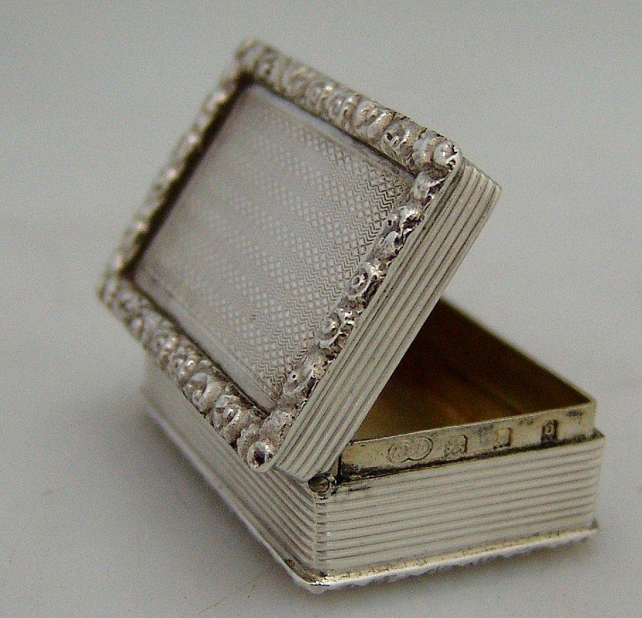 English Snuff Box 18th Century Reproduction London 1929