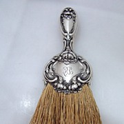 SOLD Chrysanthemum Whisk Broom Wallace Sterling 1900