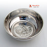 The Great Seal of the State of California Sterling Silver Bowl