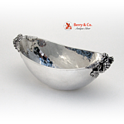 Grape Bowl Italian Handmade Sterling Silver Florence No Monogram