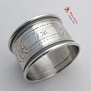Coin Silver Napkin Ring 1880