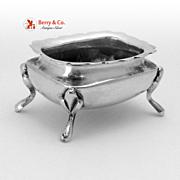 Open Salt Sanborns Sterling Silver 1940 No Monogram