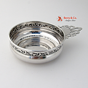 Baby Porringer Floral and Scroll Reed and Barton Sterling Silver