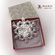 SALE PENDING Gorham Christmas Ornament Sterling Silver 1979