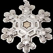 Gorham Christmas Ornament Sterling Silver 1988