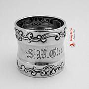 Strasbourg Napkin Ring Sterling Silver Gorham 1903