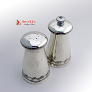 Chantilly Salt and Pepper Shakers Sterling Silver Gorham 1950
