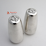 Celeste Salt and Pepper Shakers Sterling Silver Gorham 1956