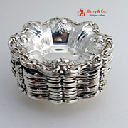 Francis I Nut Dish Sterling Silver Reed and Barton