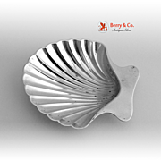 Tiffany and Co Sterling Shell Nut Dish