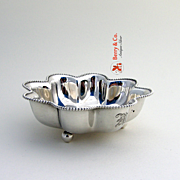 Small Bowl Beaded Edge Towle Sterling Silver 1920