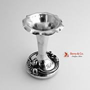 Sterling Silver Bud Vase Art Nouveau W. Kerr