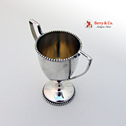 Sterling Silver Miniature Trophy