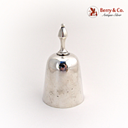 Tea Bell Sterling Silver 1900
