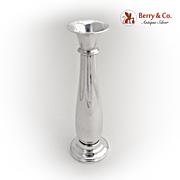 Elegant Bud Vase 1900 Sterling Silver