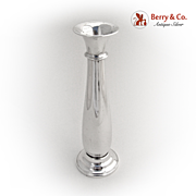 SALE PENDING Elegant Bud Vase 1900 Sterling Silver