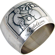 Little Boy Napkin Ring 1920 Silverplated