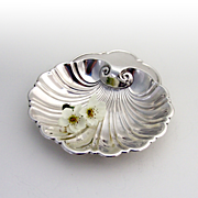 SALE PENDING Shell Form Bon Bon Dish Sterling Silver Gorham