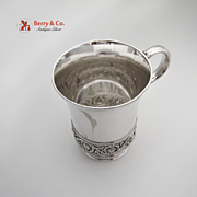 Tiffany Antique Aesthetic Cup Silver Soldered Silver Plated 1890