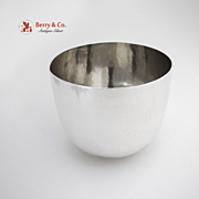 SOLD Antique Heavy Tumbler Cup Sterling Silver 18Th Century