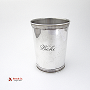Julep Cup Sterling Silver Manchester 1970