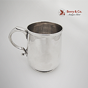 Sterling Silver Cup or Mug Black Starr and Frost