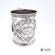 Medallion Cup Sterling Silver Albert Coles 1860