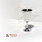 Number 16 Goblet Sterling Silver Wallace 1910